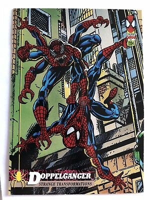 Spider-Man Fleer Marvel Card #26 Doppelgänger