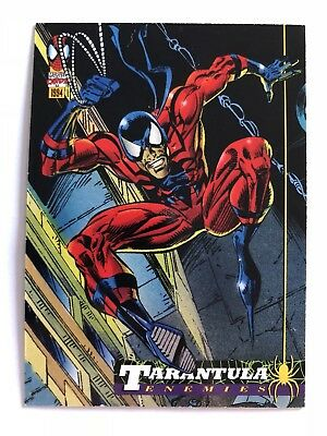 Spider-Man Fleer Marvel Card #28 Tarantula