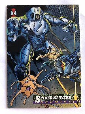 Spider-Man Fleer Marvel Card #29 Spider Slayer