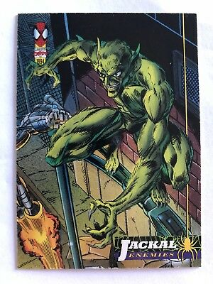 Spider-Man Fleer Marvel Card #30 Jackal