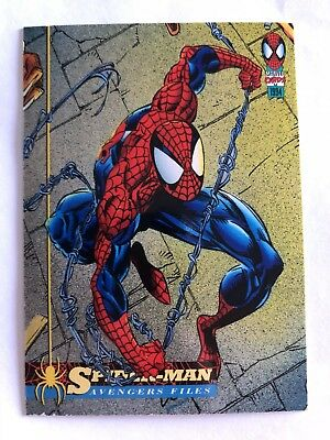 Spider-Man Fleer Marvel Card #32