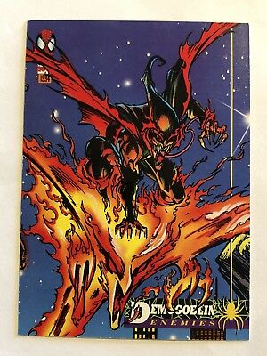 Spider-Man Fleer Marvel Card #38 Demogoblin
