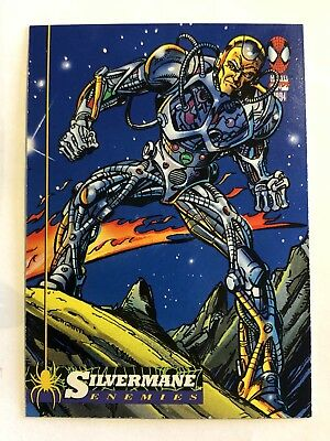 Spider-Man Fleer Marvel Card #39 Silvermane