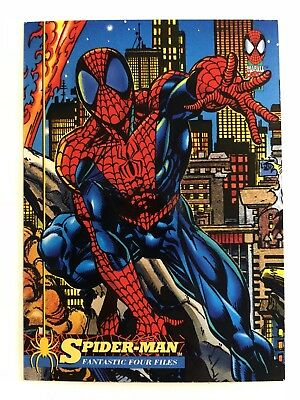 Spider-Man Fleer Marvel Card #41