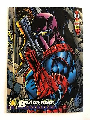 Spider-Man Fleer Marvel Card #44 Blood Rose