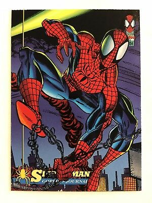 Spider-Man Fleer Marvel Card #47