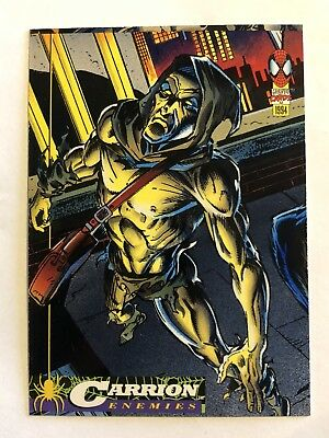 Spider-Man Fleer Marvel Card #49 Carrion