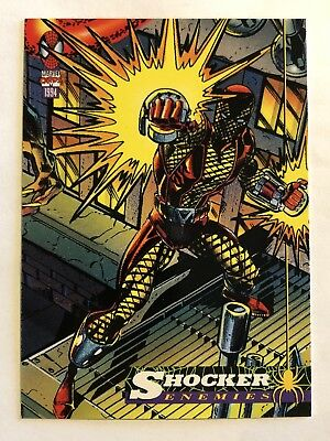 Spider-Man Fleer Marvel Card #51 Shocker