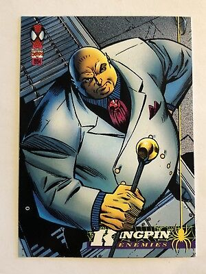 Spider-Man Fleer Marvel Card #52 Kingpin