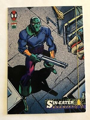 Spider-Man Fleer Marvel Card #53 Sin-eater