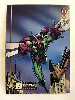 Spider-Man Fleer Marvel Card #55 Beetle