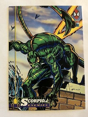 Spider-Man Fleer Marvel Card #59 Scorpion