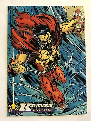Spider-Man Fleer Marvel Card #61 Kraven