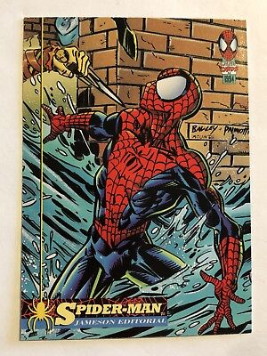 Spider-Man Fleer Marvel Card #62