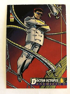 Spider-Man Fleer Marvel Card #64 Doctor Octopus