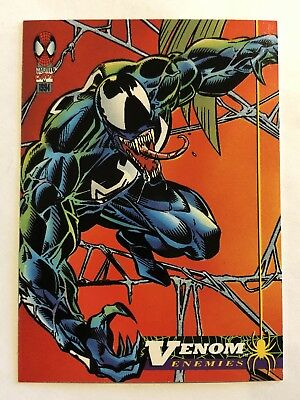Spider-Man Fleer Marvel Card #67 Venom
