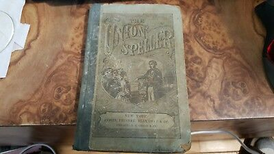1886 The Union Speller. English Orthography, rare Antique American School Book