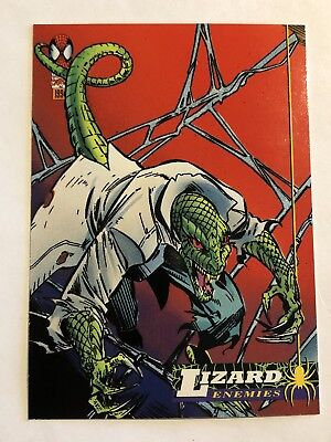 Spider-Man Fleer Marvel Card #70 Lizard