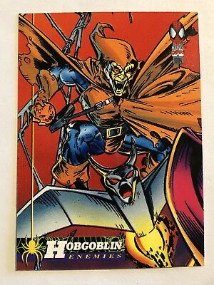 Spider-Man Fleer Marvel Card #71 Hobgoblin