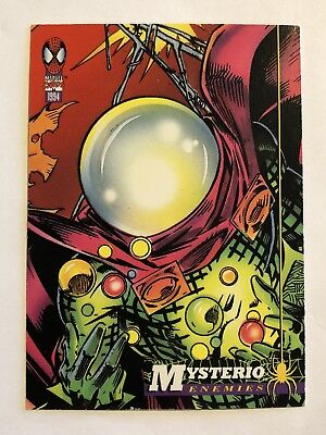 Spider-Man Fleer Marvel Card #72 Mysterio