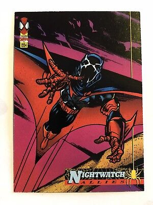 Spider-Man Fleer Marvel Card #74