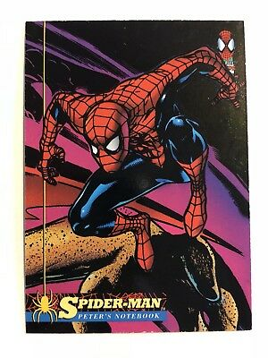 Spider-Man Fleer Marvel Card #75