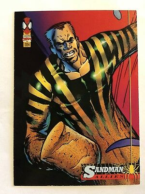 Spider-Man Fleer Marvel Card #76 Sandman