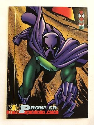 Spider-Man Fleer Marvel Card #80 Prowler