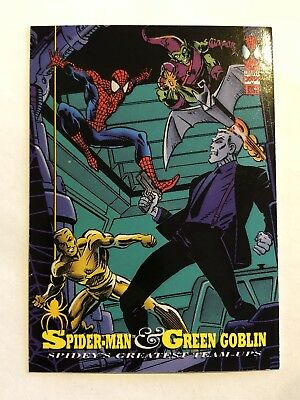 Spider-Man Fleer Marvel Greatest Team-ups Card #86 Green Goblin