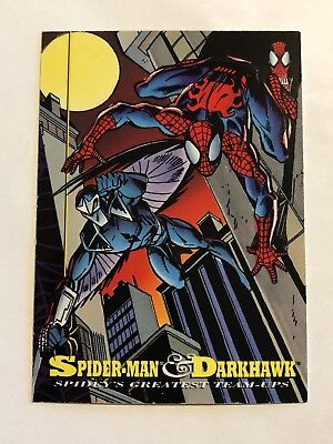 Spider-Man Fleer Marvel Greatest Team-ups Card #96 Darkhawk