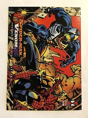 Spider-Man Fleer Marvel Greatest Team-ups Card #97 Venom