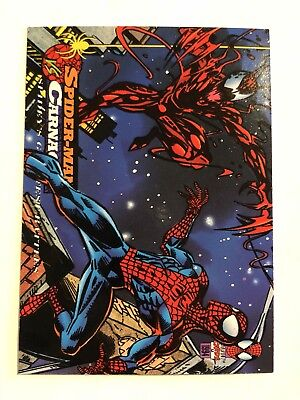 Spider-Man Fleer Marvel Greatest Team-ups Card #98 Carnage