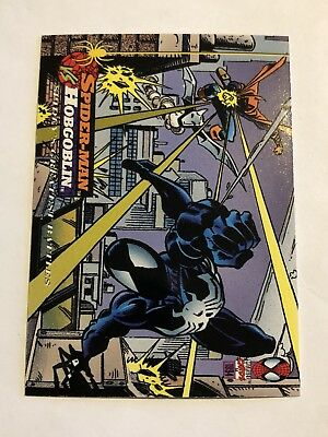 Spider-Man Fleer Marvel Greatest Team-ups Card #99 Hobgoblin