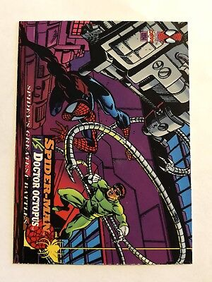 Spider-Man Fleer Marvel Greatest Team-ups Card #101 Doctor Octopus