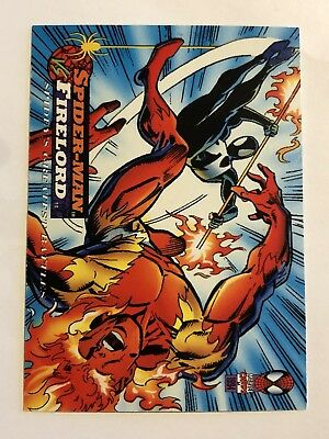 Spider-Man Fleer Marvel Greatest Team-ups Card #103 Firelord