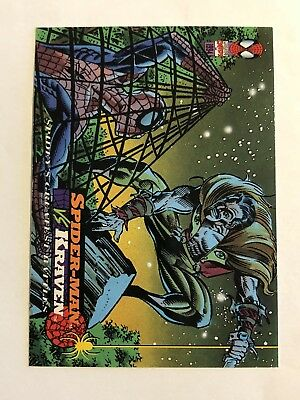 Spider-Man Fleer Marvel Greatest Team-ups Card #109 Kraven