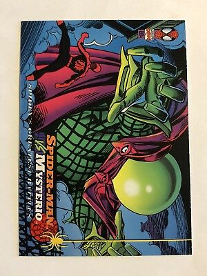 Spider-Man Fleer Marvel Greatest Team-ups Card #110 Mysterio