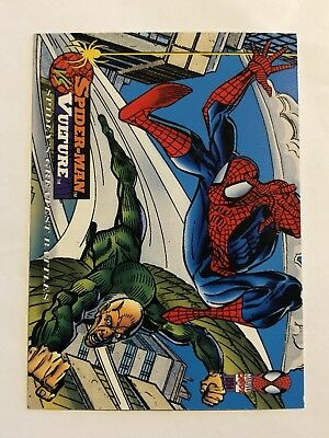 Spider-Man Fleer Marvel Greatest Team-ups Card #112 Vulture