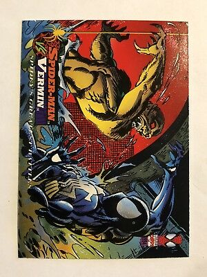Spider-Man Fleer Marvel Greatest Team-ups Card #117 Vermin