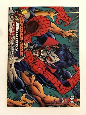 Spider-Man Fleer Marvel Greatest Team-ups Card #121 Morbius
