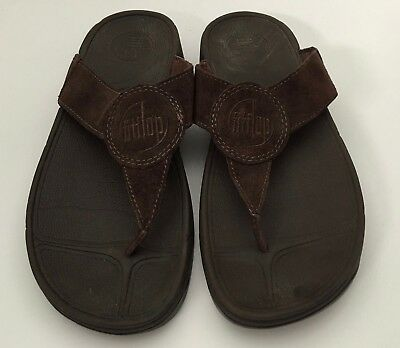 addbac71848cda FITFLOP OASIS WOMENS Sandals Size 8 Black Suede Thong Flip Flops ...