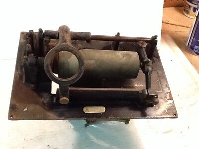 Edison Phonograph Parts Cylinder Player