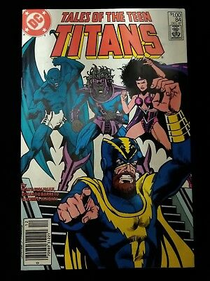 Tales Of The Teen Titans #84 VF+ Pristine shape Marvel 1987