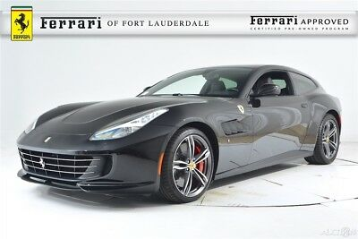 Ferrari GTC4Lusso V12 AWD Certified CPO Apple CarPlay Carbon Fiber LED Shields Passenger Display Forged Panoramic Roof