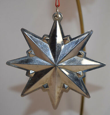 Wallace Sterling Star Ornament 1995 - Ornament Only