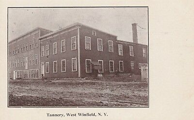Tannery West Winfield NY Herkimer County