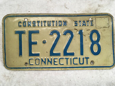 1974 Connecticut license plate