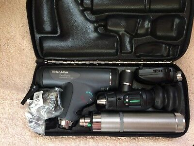 Welch Allyn Dermatoscope Panoptic Macroview Opthalmoscope 11735 Handle LED NEW