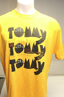 ea1c0b003 THE WHO S TOMMY Broadway Musical VTG 1993 T Shirt M L Townshend ...