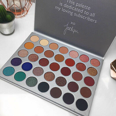 2018 Pro Limited Edition Jaclyn Hill Morphe 35 Colors Eye shadow Palette US